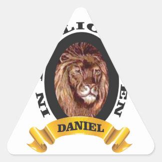 repaire des lions Daniel Sticker Triangulaire