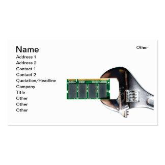 Réparation de matériel modèles de cartes de visite