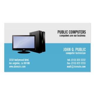 Réparation d'ordinateur IL administrateurs réseau Carte De Visite Standard
