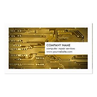 Réparation moderne d'ordinateur de bord de circuit carte de visite standard
