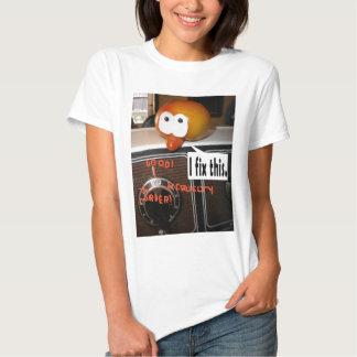 Réparations mineures t-shirts