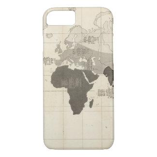Répartition géographique de végétation coque iPhone 7