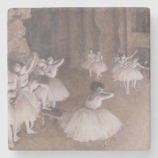 Répétition de ballet d'Edgar Degas | sur l'étape, Dessous-de-verre En Pierre