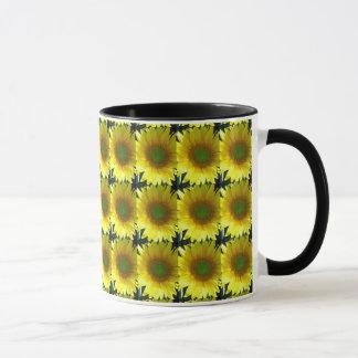 Répétition des tournesols mug