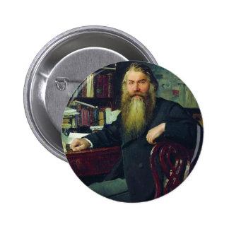 Repin-Portrait d'Ilya d'historien et d'archéologue Pin's