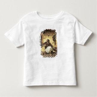 Repos albanais de sentinelle (Arnaueti) (huile sur T-shirt Pour Les Tous Petits