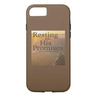 Repos sur son coque iphone d'Apple de promesses