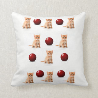 repose des chatons coussin