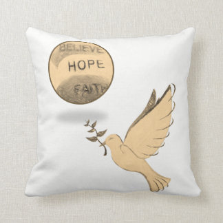 repose des colombes coussin