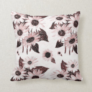 repose floral coussin