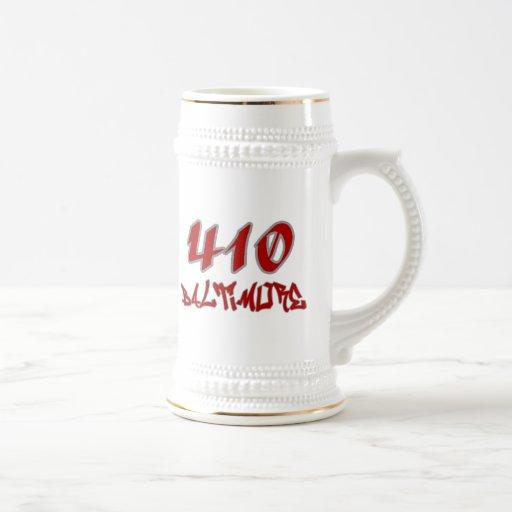 Représentant Baltimore (410) Tasses À Café