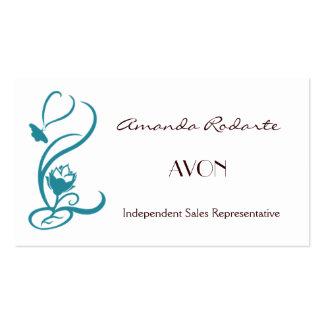 Représentant de commerce indépendant, Amanda Carte De Visite Standard