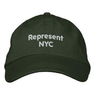 Représentez le casquette de NYC