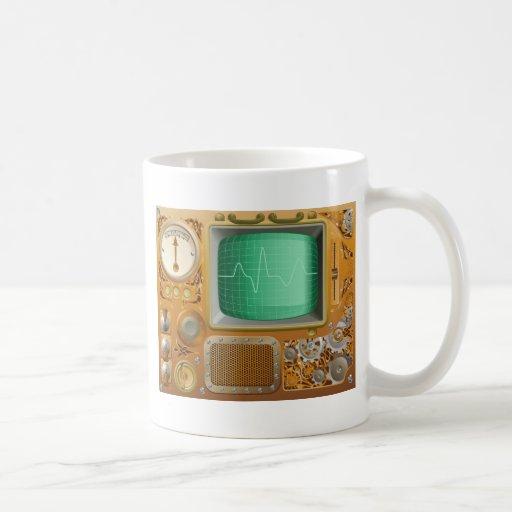Reproducteur multimédia industriel de Steampunk Tasses À Café