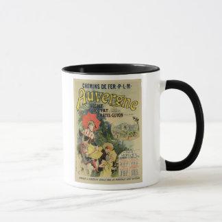 Reproduction d'une publicité par affichage le mug