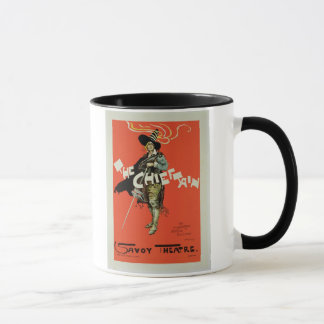 Reproduction d'une publicité par affichage 'le mugs