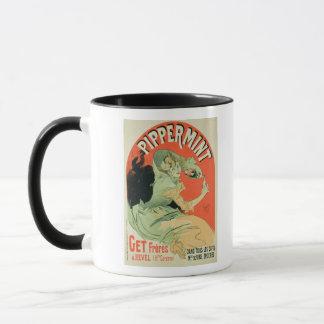Reproduction d'une publicité par affichage mug