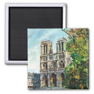 Reproduction France vintage, Paris, Notre Dame Magnets