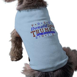 Républicain 2016 de président élection de Donald T-shirt Pour Chien