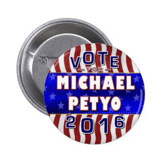 Républicain 2016 de président élection de Michael Badges