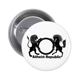 République athée pin's