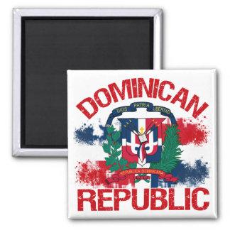 République de Domonican Magnet Carré
