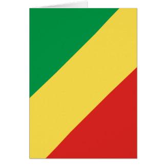 république du Congo Carte De Vœux