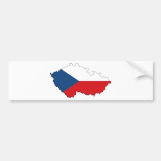 République Tchèque CZ Autocollant De Voiture