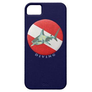 requin de drapeau de plongée coque iPhone 5
