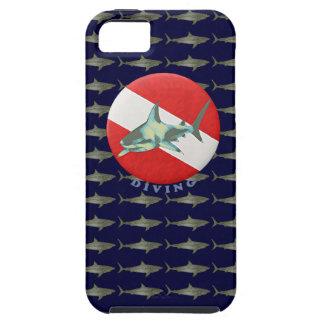 requin de drapeau de plongée coques iPhone 5 Case-Mate