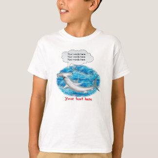 Requin de poisson-marteau parlant t-shirt