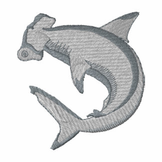 Requin de poisson-marteau polo brodé