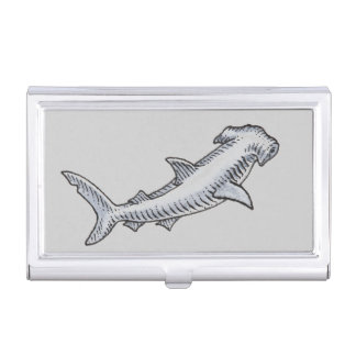 Requin de poisson-marteau porte-cartes de visite