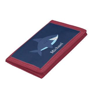 Requin de sourire bleu frais