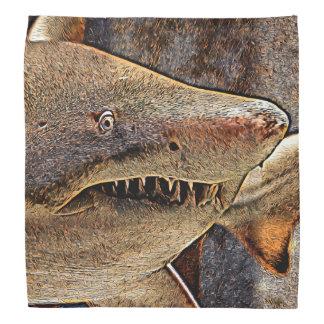 Requin géant bandana