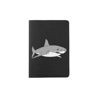 requin gris frais protège-passeport