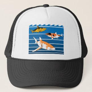 Requins de Koi Casquette