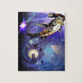 Requins de l'espace puzzle