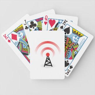 Réseau sans fil jeu de cartes