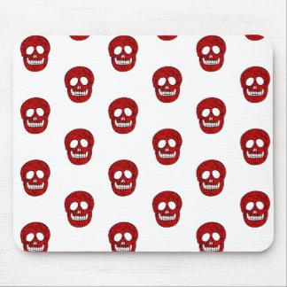 Réseau skulls tapis de souris