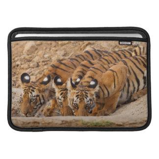 Réservation de tigre de Tadoba Andheri Poches Macbook Air