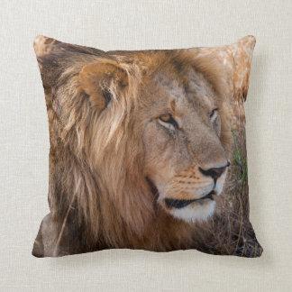 Réservation nationale de Maasai Mara de lion, Coussin Décoratif