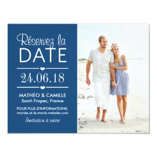 Réserver la Date du Mariage | Cartes Avec Photo