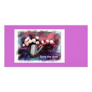 Réservez la date cartes de vœux avec photo