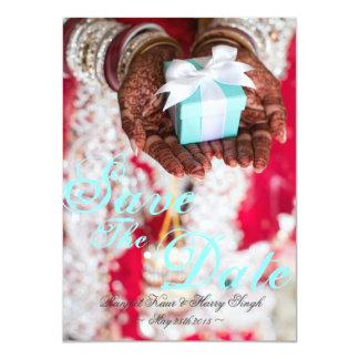 Réservez la date carton d'invitation  11,43 cm x 15,87 cm