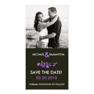 Réservez la date photocartes personnalisées