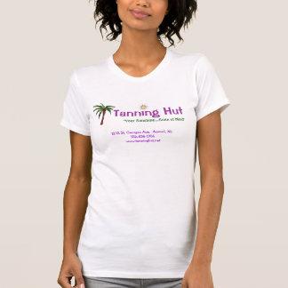 Réservoir de bronzage de hutte t-shirt