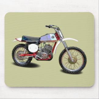 tapis de souris moto vintage. Black Bedroom Furniture Sets. Home Design Ideas
