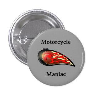 Réservoir de gaz maniaque de moto badge