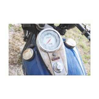 Réservoir de gaz vintage de Motocycle Toiles
